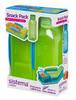 Набор Snack: контейнер и бутылка 475мл