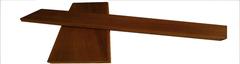 Полок Термоосина 26х90 мм (2 метра) Экстра