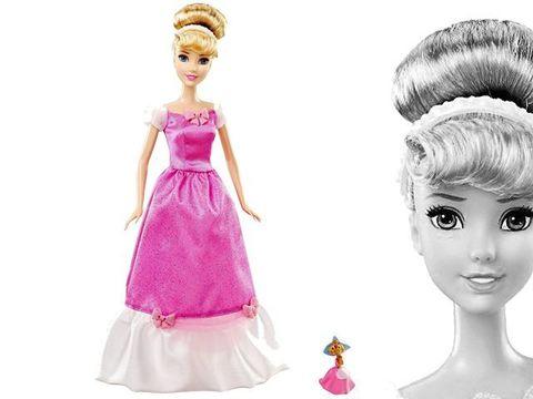 Золушка, с мышкой Сьюзи, Принцессы Диснея