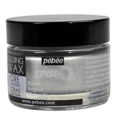 Воск (вакса) для золочения Pebeo Gedeo 30 мл Цвет Серебро