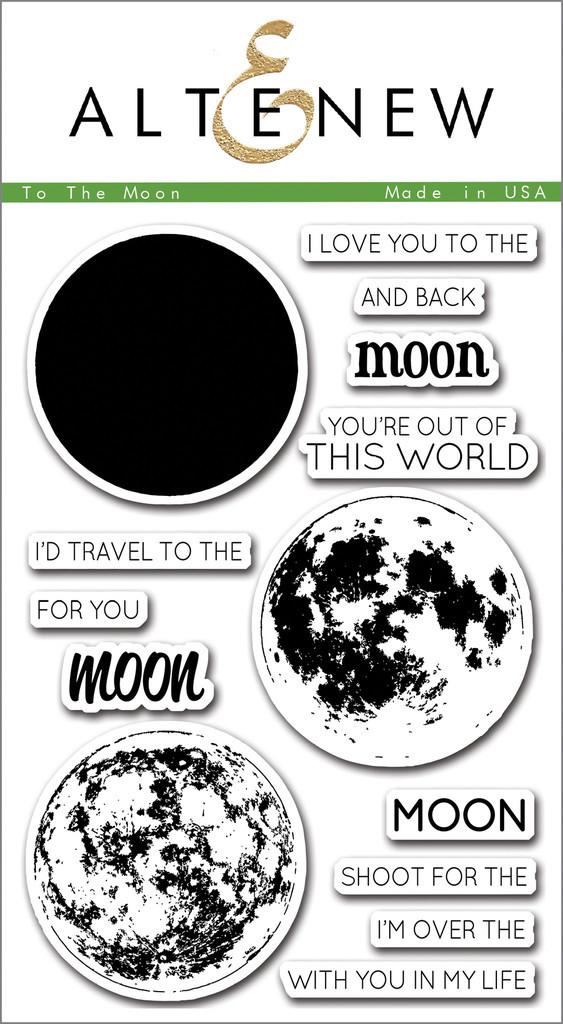 Набор штампов To the Moon