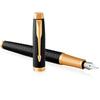 Parker IM Premium - Black GT, перьевая ручка, F