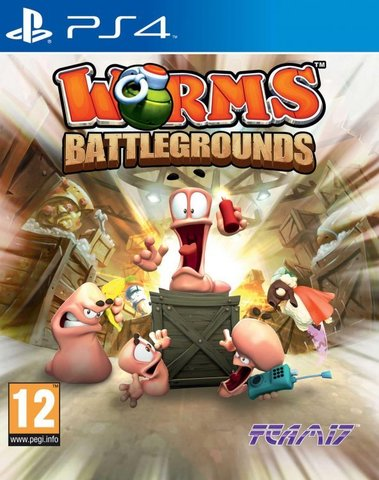PS4 Worms Battlegrounds (английская версия)