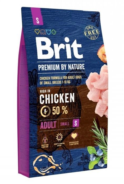 Brit Корм для собак мелких пород, Brit Premium by Nature Adult S Brit_Premium_by_Nature_Adult_S.jpg