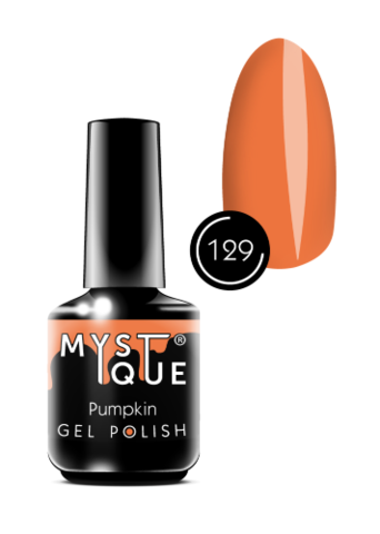 Mystique Гель-лак #129 «Pumpkin» 15 мл