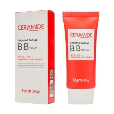 BB крем укрепляющий с керамидами SPF50+ PA+++ FarmStay Ceramide Firming Facial BB Cream 50мл