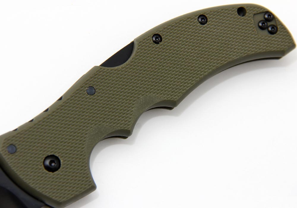 Нож Cold Steel Recon 1 Tanto Point 27TLTVG OD Green - фотография