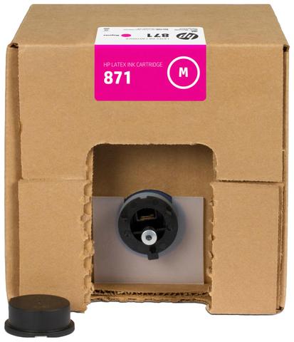 Картридж HP 871 (G0Y80C) Magenta 3000 мл