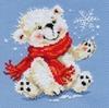 Набор для вышивания Алиса Белый медвежонок