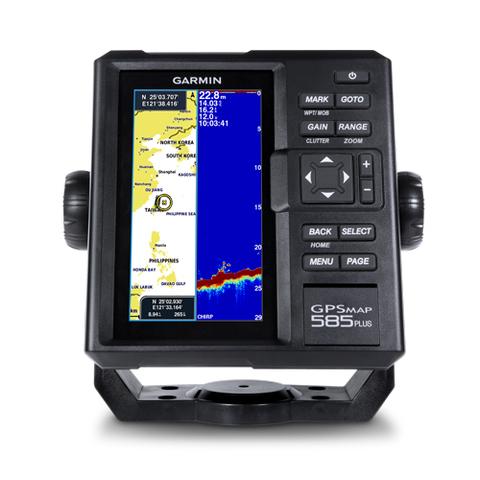 ЭХОЛОТ-КАРТПЛОТТЕР GARMIN GPSMAP 585PLUS трансдьюсером GT20