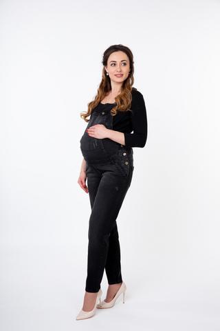 Комбинезон для беременных 09839 черный
