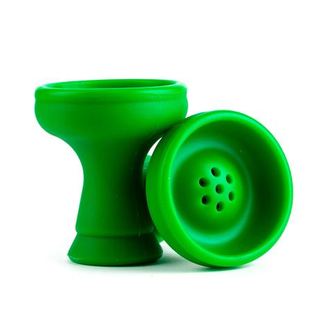 Чашка силикон чилим Зеленый