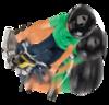Электроскутер для дрифта Razor PowerRider 360 чёрный