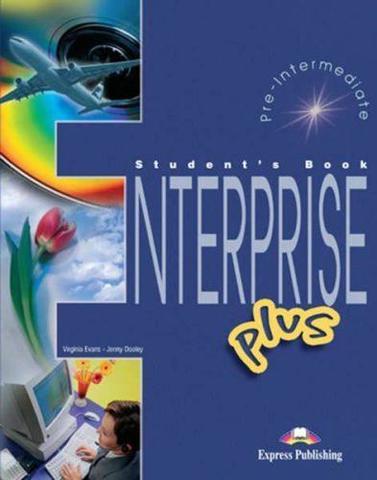 enterprise plus pre-int. student's book - учебник
