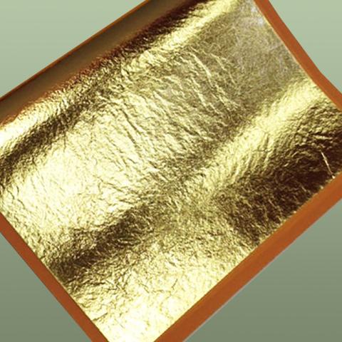 Поталь для золочения, Золото, лист 14х14, набор 10 листов,ProArt