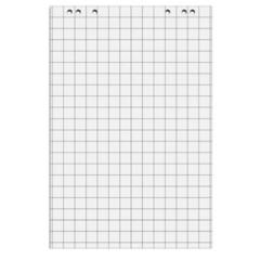 Бумага для флипчартов Attache 67.5х98 см белая 20 листов (80 г/кв.м, 5 блоков в упаковке)