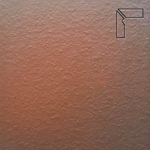 Ceramika Paradyz - Cloud Brown Duro, 300x81x11, артикул 19 - Цоколь левый структурный 2-х элементный