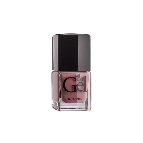 Relouis Like Gel Лак для ногтей с гелевым эффектом тон №04 (кремовая ваниль) 6г