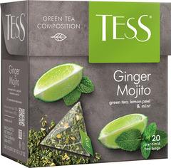 "Чай зеленый ""Tess"" Джинджер мохито зел.20 пирамидок"