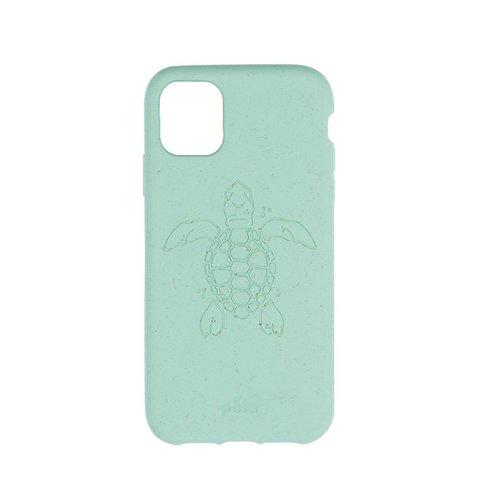 Чехол для телефона Pela iPhone 11 Ocean Turtle (мятный с черепахой)