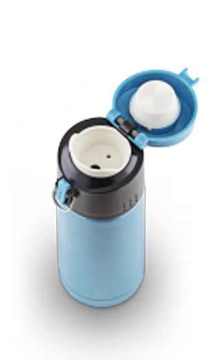 Термокружка LaPlaya Travel Tumbler Bubble Safe (0,35 литра), голубая