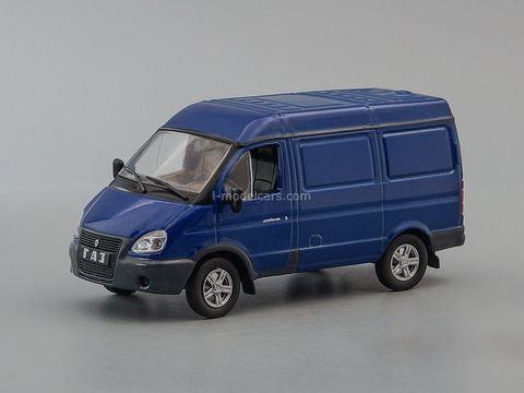 GAZ-27527 Sable 2010-2016 dark blue 1:43 DeAgostini Auto Legends USSR #258