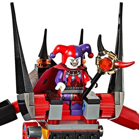 LEGO Nexo Knights: Вулканическое логово Джестро 70323 — Jestro's Volcano Lair — Лего Нексо Найтс Рыцари