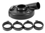 Защитный кожух MESSER для УШМ для шлифовки (тип А4). Диаметр шлифовальной чашки 180 мм.