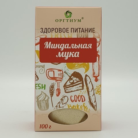 Мука миндальная ОРГТИУМ, 100 гр