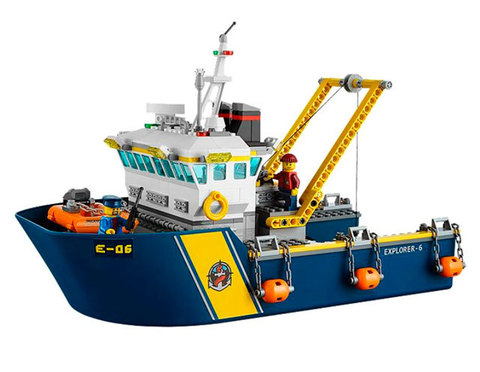 LEGO City: Корабль исследователей морских глубин 60095 — Deep Sea Exploration Vessel — Лего Сити Город