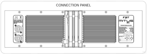 Линейные массивы FBT Mitus 206L