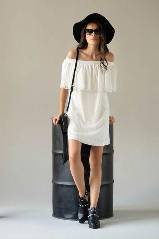 Платье 61444 белый Laete