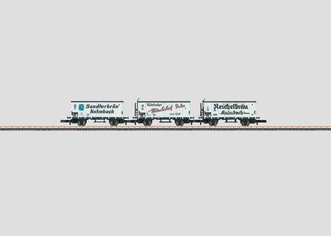 Набор вагонов для пива Marklin Z 86395