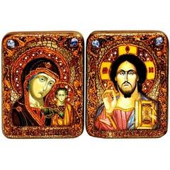 Венчальная пара инкрустированных подарочных икон