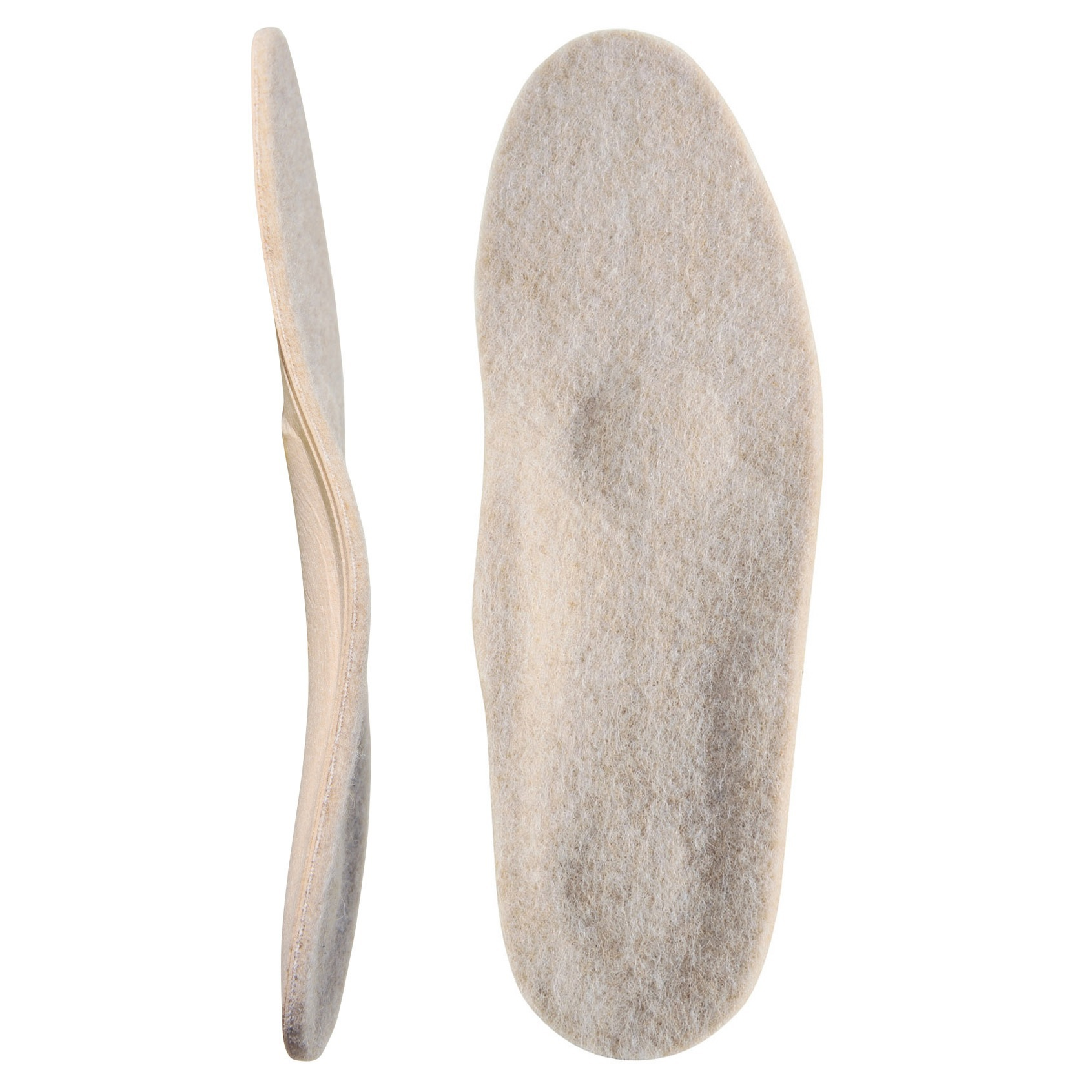 Каркасные ортопедические стельки с покрытием из натуральной шерсти «Зима Элит»