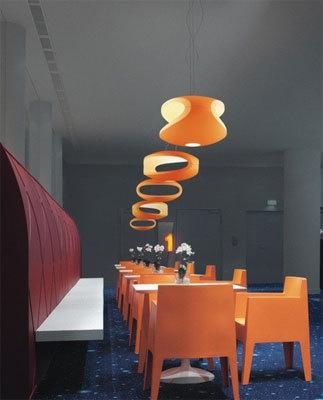 Подвесной светильник копия O-Space by Foscarini (белый)
