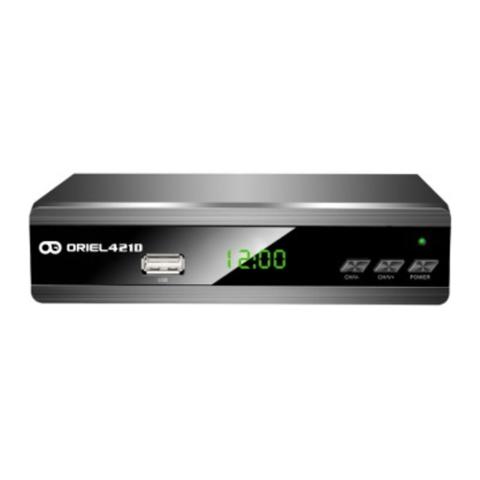 Цифровая приставка Oriel 421UD эфирный ресивер DVB-T2 / С