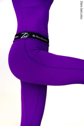 Ziphirus leggings colour | violet