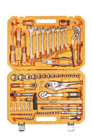 Набор инструментов универсальный 78 предметов, пласт.кейс