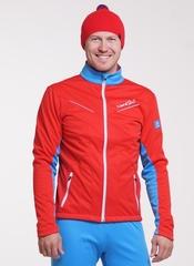 Утеплённая лыжная куртка Nordski National Red 2018