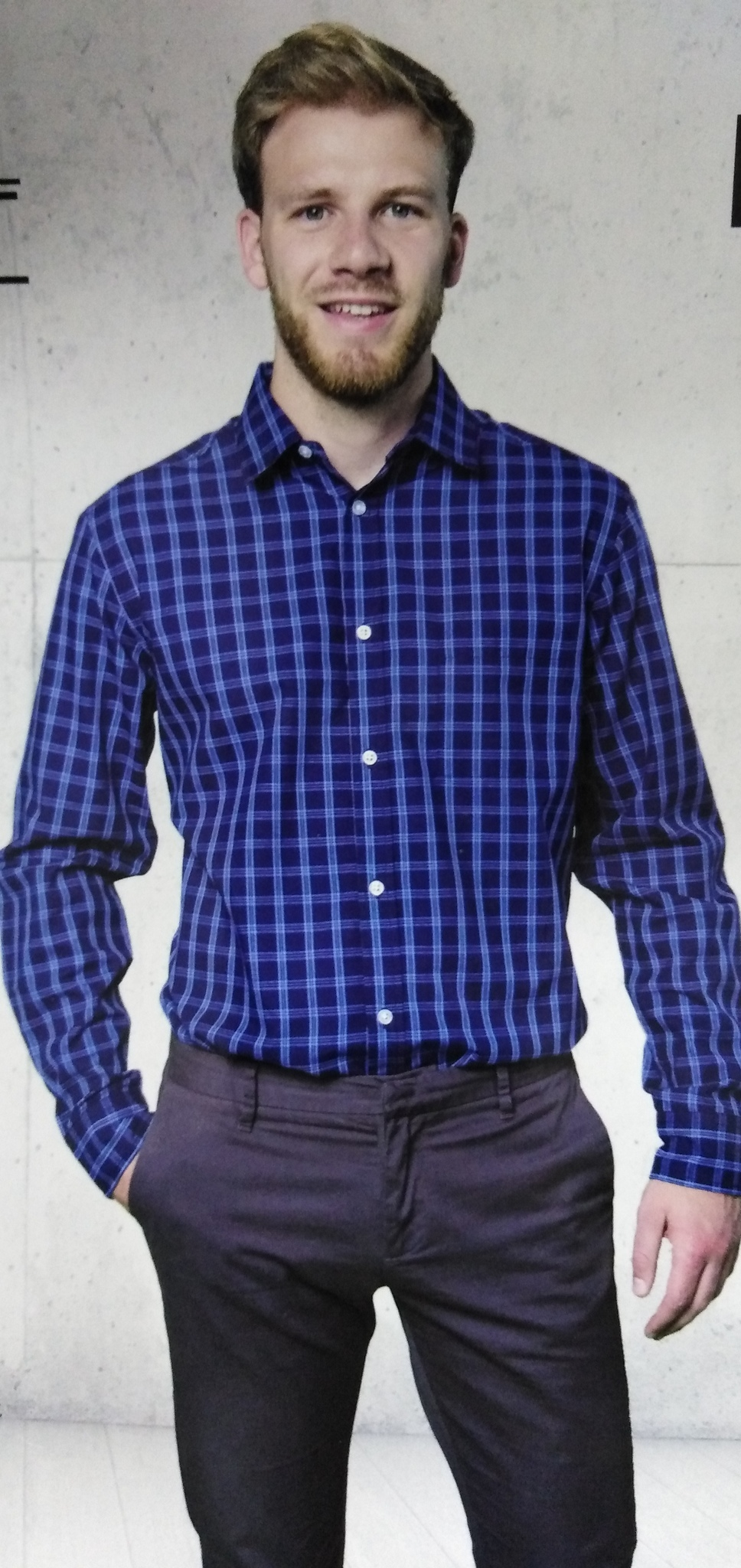 Рубашка мужская Action