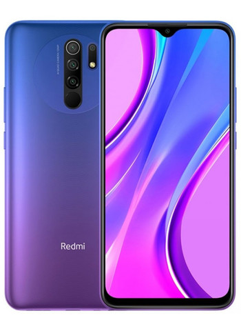 Смартфон Xiaomi Redmi 9 4/64GB NFC Фиолетовый (Purple) Global Version