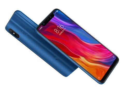 Смартфон Xiaomi Mi 8 6 / 128GB (синий)
