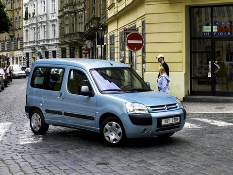 Чехлы на Citroen Berlingo 2002–2009 г.в.