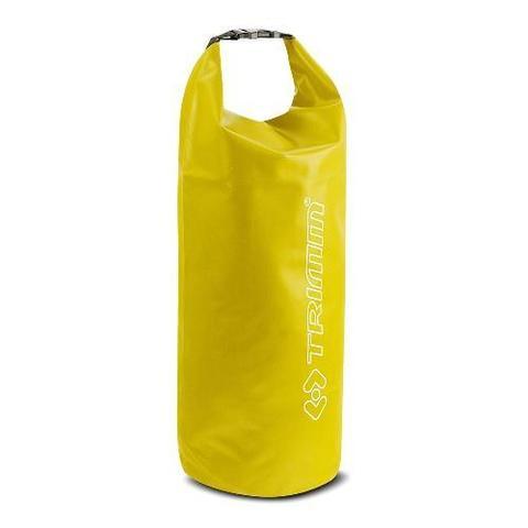 Сумка лодочная водонепроницаемая Trimm SAVER, 25 литров, диаметр 25*52, желтый