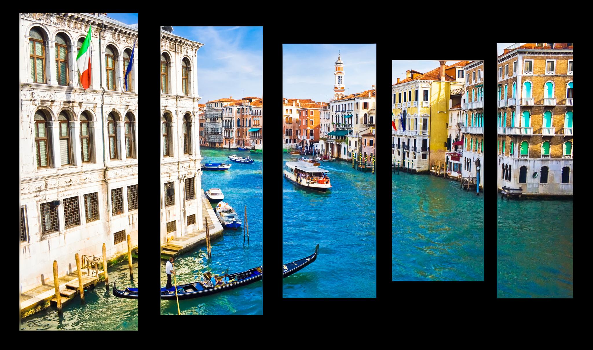 "Города Модульная картина ""Красочная Венеция"" М1033_M_загибы_90х60.png"