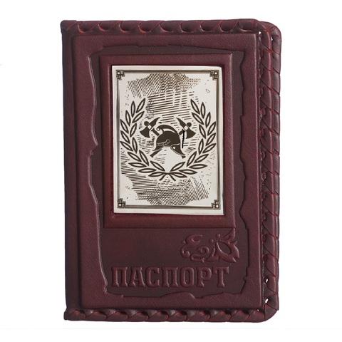 Обложка для паспорта «Пожарному»