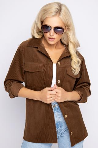 """<p>Хит! Хит! Хит!&nbsp;</p> <p>&nbsp;</p> <p>Вельветовая рубашка- любимая одежда активных особ.Она практична и удобна, а так же очень стильная.</p> <p><span>Отлично сочетается с брюками """"Вельвет"""".(Длины: 44/46р-71,48/50-72см).</span></p>"""