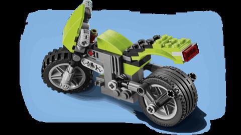 LEGO Creator: Крузер 31018 — Highway Cruiser — Лего Креатор Создатель