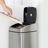 Прямоугольный мусорный бак Touch Bin (25 л), артикул 384929, производитель - Brabantia, фото 13